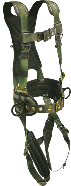 French Creek STRATOS Construction Style Harness - 6 Point Adjustment
