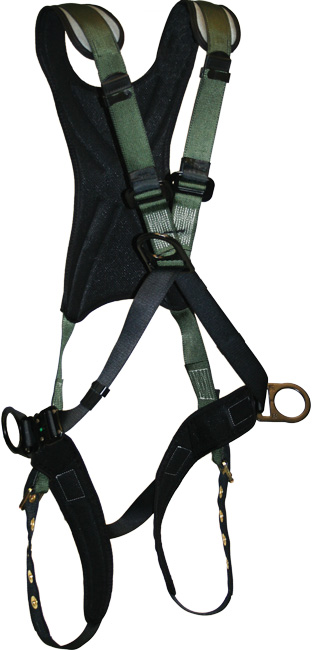 French Creek STRATOS Cross-Chest Style Harness - 4 Point Adjustment
