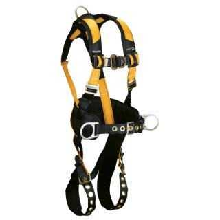 FallTech Journeyman Flex Steel 4D Construction Climbing Full Body Harness