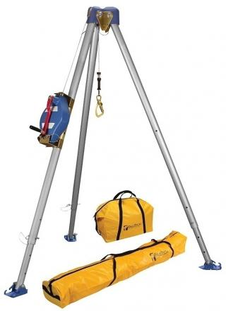 FallTech 7500 Tripod Kit With Galvanized Cable