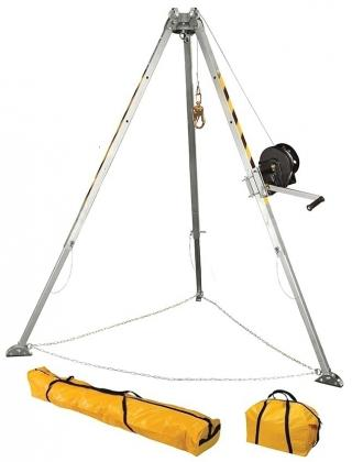 FallTech Tripod Kit With Galvanized Cable