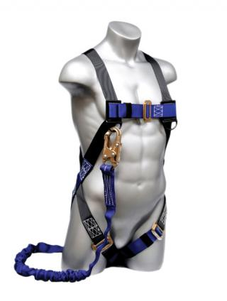 Elk River 48113 ConstructionPlus Harness with NoPac Lanyard