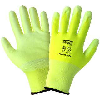Samurai Glove - High-Visibility PU Coated Cut Resistant Gloves