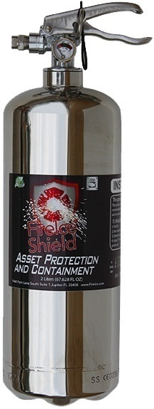 GelTech FireIce Shield 64 FL OZ Asset Protection Canister