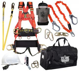 GME Supply 90002 Complete Tower Climbing Fall Protection Kit