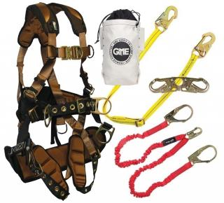 GME Supply 90004 FallTech ComforTech Tower Climbing Kit