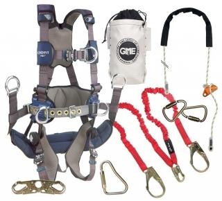 GME Supply 90005 ExoFit NEX Tower Climbing Harness Kit