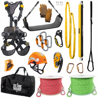 GME Supply Basic Controlled Descent Kit with Rope