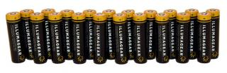 Illumagear 18650 Lithium Ion Rechargeable Batteries 20-Pack