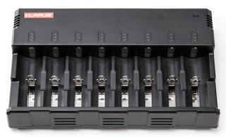 Illumagear Klarus C8 8-Bay Universal Battery Charger