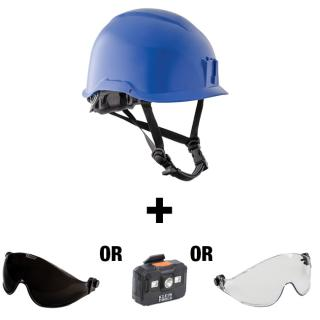 Klein Tools Safety Helmet with Free Headlamp or Visor