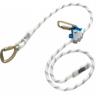Skylotec Ergogrip SK 16 Positioning Lanyard with Carabiner