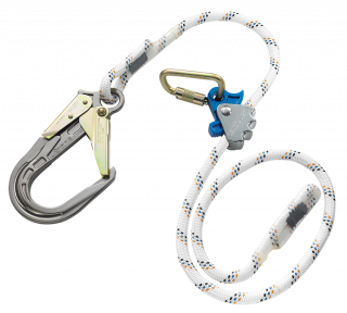 Skylotec Ergogrip SK 16 Positioning Lanyard with Rebar Hook