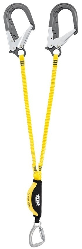 Petzl Absorbica - Y Double Lanyard with MGO Connectors