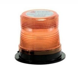 North American Signal 1 Quad Flash Microburst LED Light with Permanent Mount
