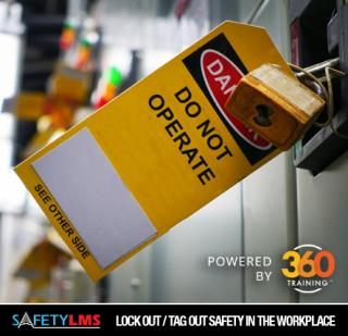 Safety LMS Lockout / Tagout Safety in the Workplace Online Course