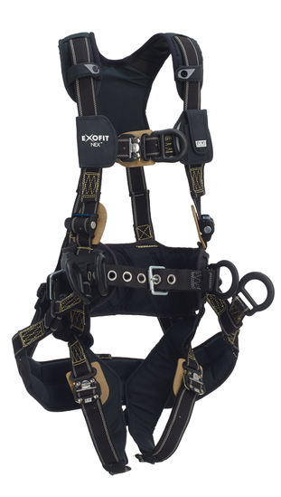 DBI Sala ExoFit NEX Arc Flash Tower Climbing Harness