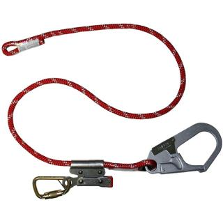 Honeywell Miller Adjustable Positioning/Restraint Lanyard with Rope Grab (6 Foot)