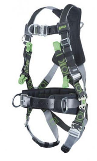 Miller Revolution Harnesses with Kevlar/Nomex Webbing and Suspension Loops