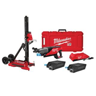 Milwaukee MX FUEL Handheld Core Drill Kit with Stand