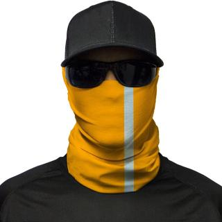 Hi-Vis Orange Multi-Use Face Shield