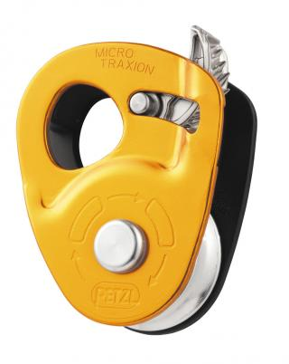 Petzl MICRO TRAXION Ultralight Progress Capture Pulley