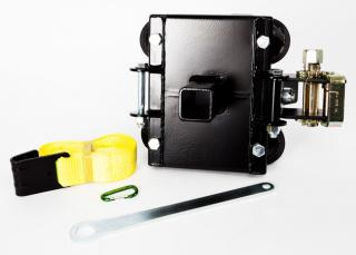 Portable Winch Anchor System for Trees and Poles with Strap