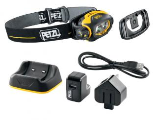 Petzl Pixa 3R Rechargeable Multibeam Headlamp with Configurable Performance
