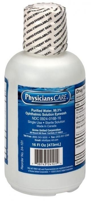 First Aid Only Eyewash (12 Pack)
