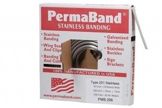 PermaBand Type 201 Stainless Steel Banding