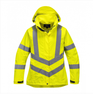 Portwest Ladies Hi-Vis Mesh Lined Breathable Jacket