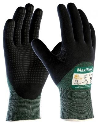 MaxiFlex Cut Resistant Gloves with Micro Dot Palm (12 Pair)