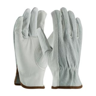 PIP Industry Grade Top Grain Drivers Glove with Shoulder Split Cowhide Leather Back