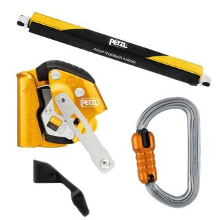 Petzl ASAP Lock Kit with ASAP'SORBER Axess and Carabiner