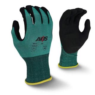 Radians RWG533 AXIS Cut Protection Level A2 Foam Nitrile Coated Glove