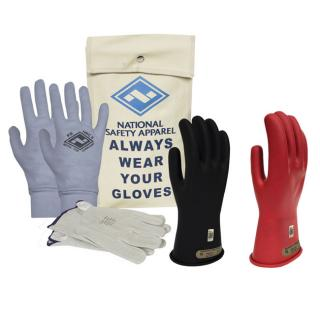 National Safety Apparel ArcGuard Rubber Voltage Glove Premium Kit
