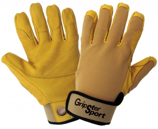 Gripster Sport Premium Goatskin Leather Climbing Gloves (12 Pair)