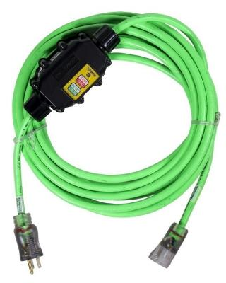 Solid Ground 50 Foot Inline GFCI Extension Cord