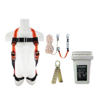 SafeWaze Roofer's Fall Protection Compliance Kit