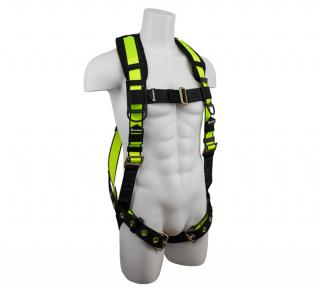 SafeWaze PRO Vest Harness with Grommet Legs