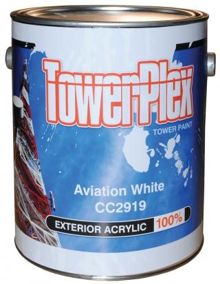 TowerPlex Aviation White Tower Paint - 1 Gallon Pail