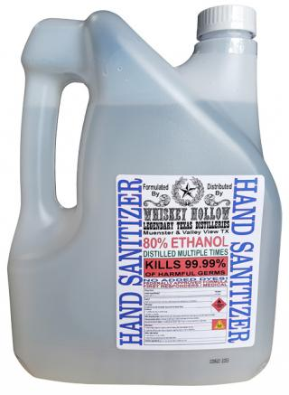 80% Ethanol Hand/Surface Sanitizer & Disinfectant