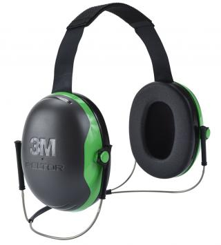 3M Peltor X1B Behind-the-Head Earmuffs