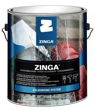 Zinga Z10 Zinc Film Cold Galvanizing Coating - 1 Gallon