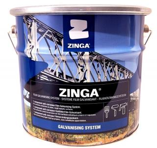 Zinga Z5 Zinc Film Cold Galvanizing Coating - 1/2 Gallon
