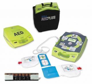 Fully Automatic AED Plus with PlusTrac Professional