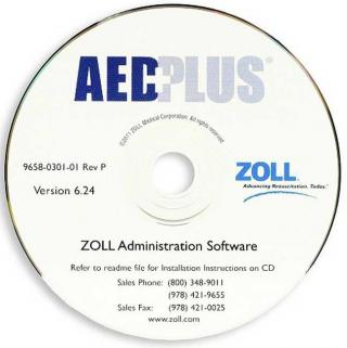 Zoll Administration Software, CD-ROM
