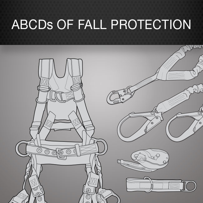ABCDs of Fall Protection by Columbia Safety and Supply