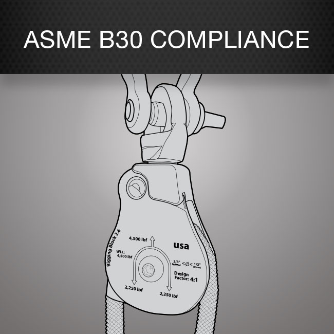 ASME B30 Compliance by Columbia Safety and Supply