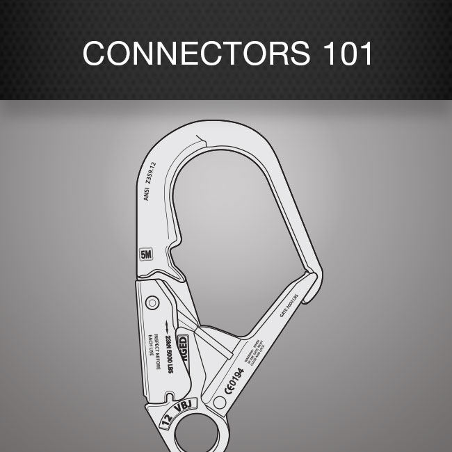 Fall Protection Gear Connectors 101 by Columbia Safety and Supply